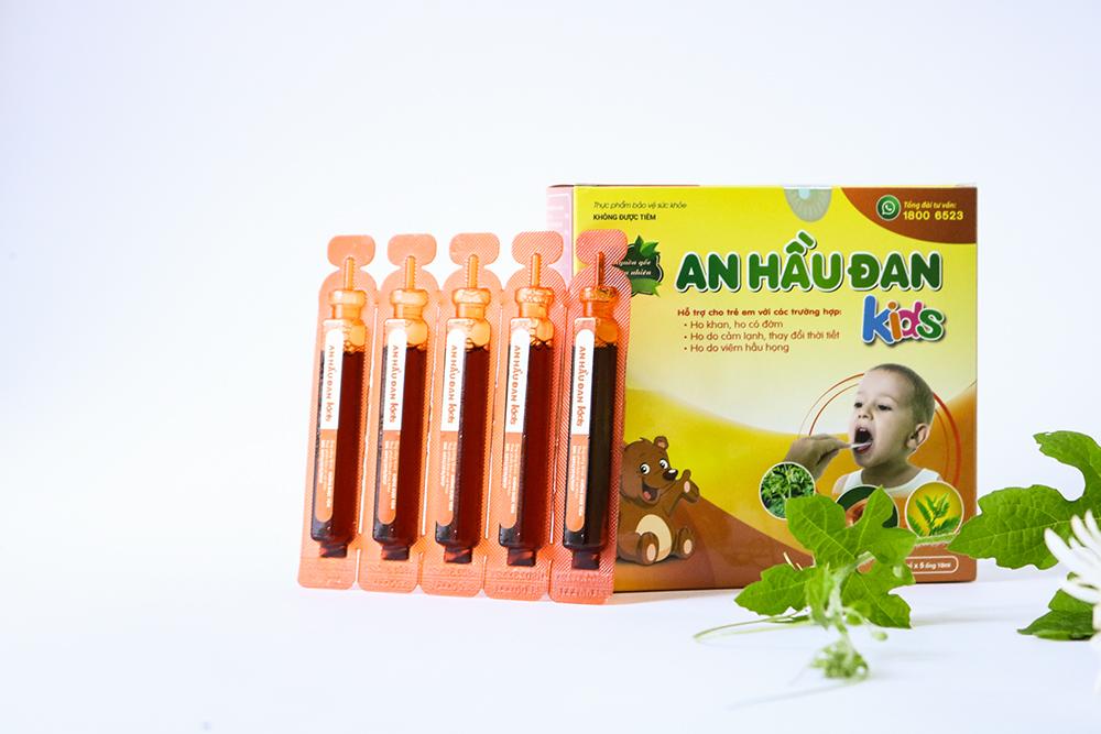 An Hầu Đan Kids -Điều trị viêm Amidan, viêm họng, viêm VA