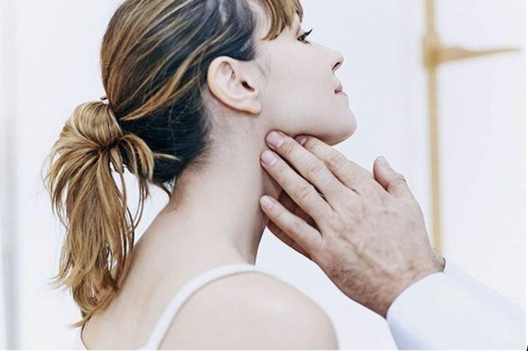 Nổi hạch ở góc hàm